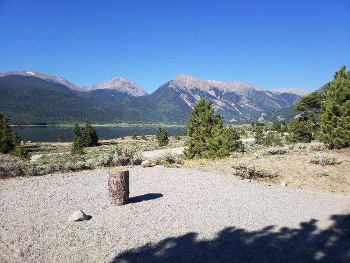 White Star Campground, site 16