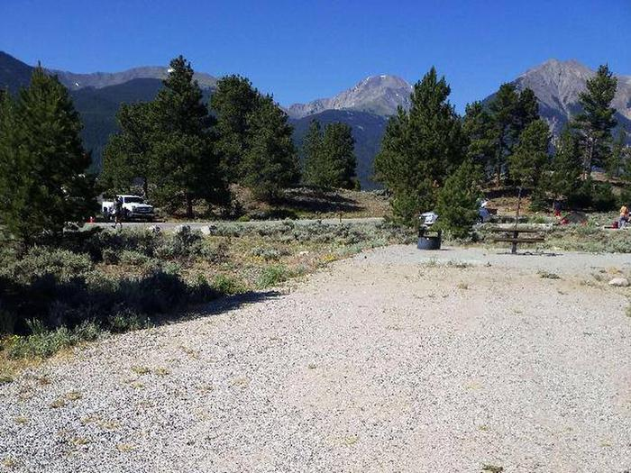 White Star Campground, site 19