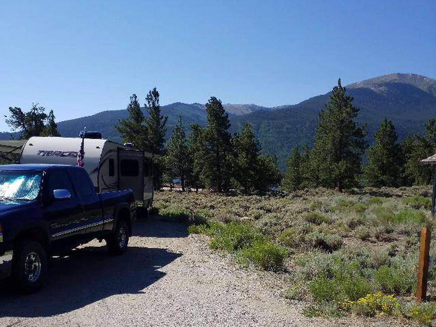 White Star Campground, site 20