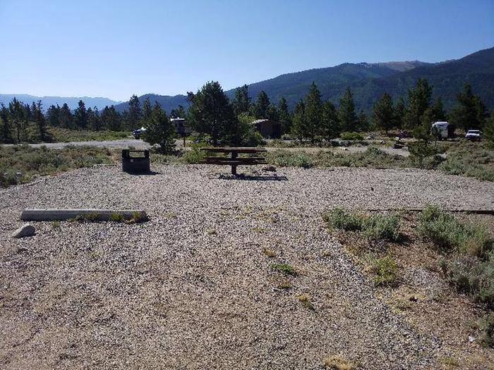 White Star Campground, site 22