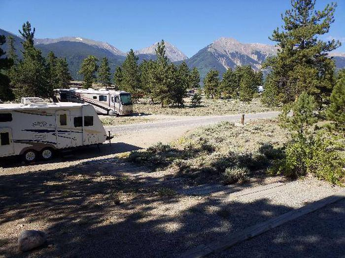 White Star Campground, site 25 view