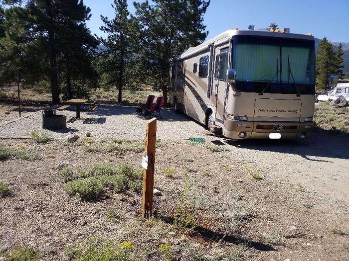 White Star Campground, site 26 marker