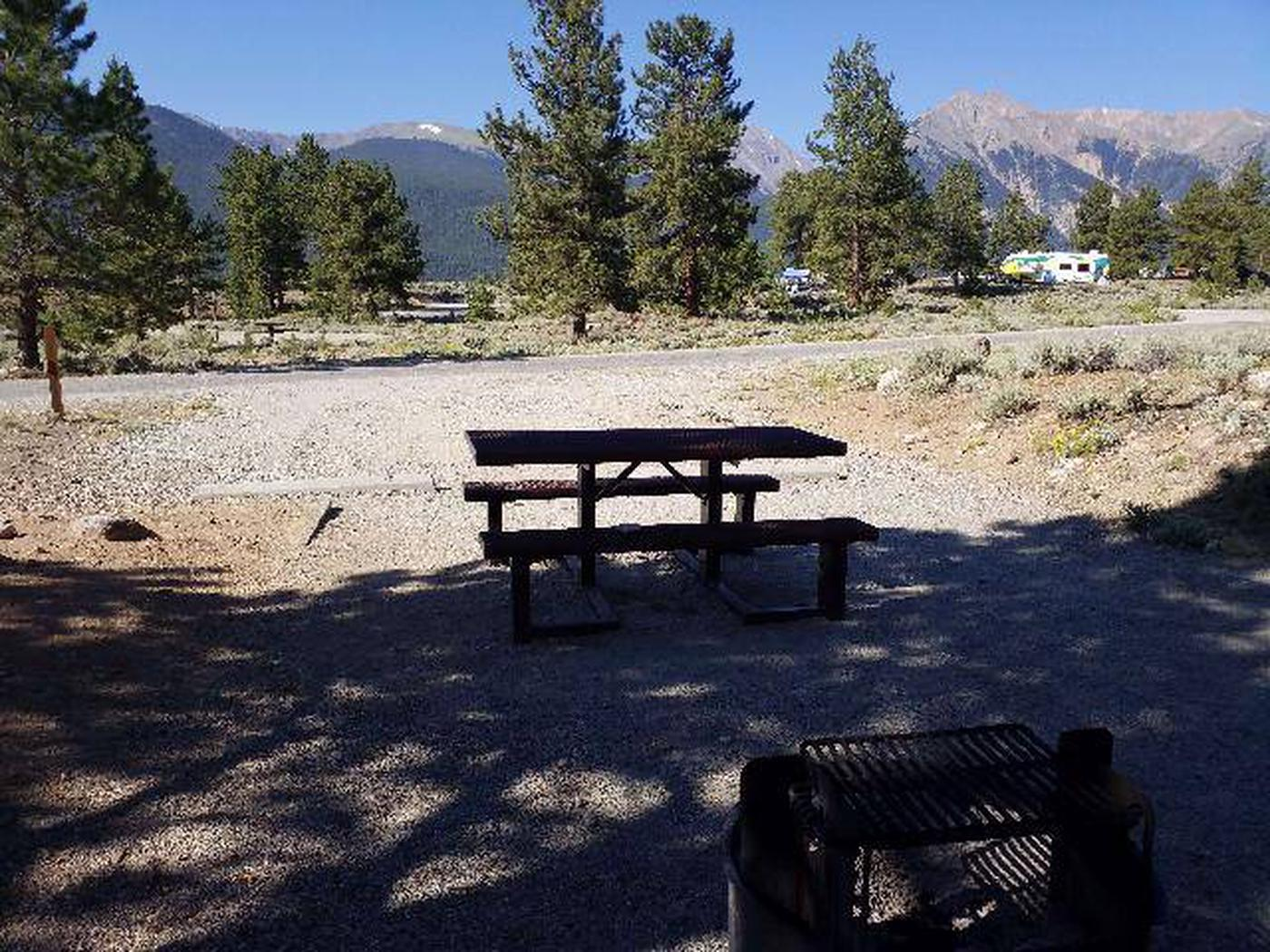 White Star Campground, site 28 view