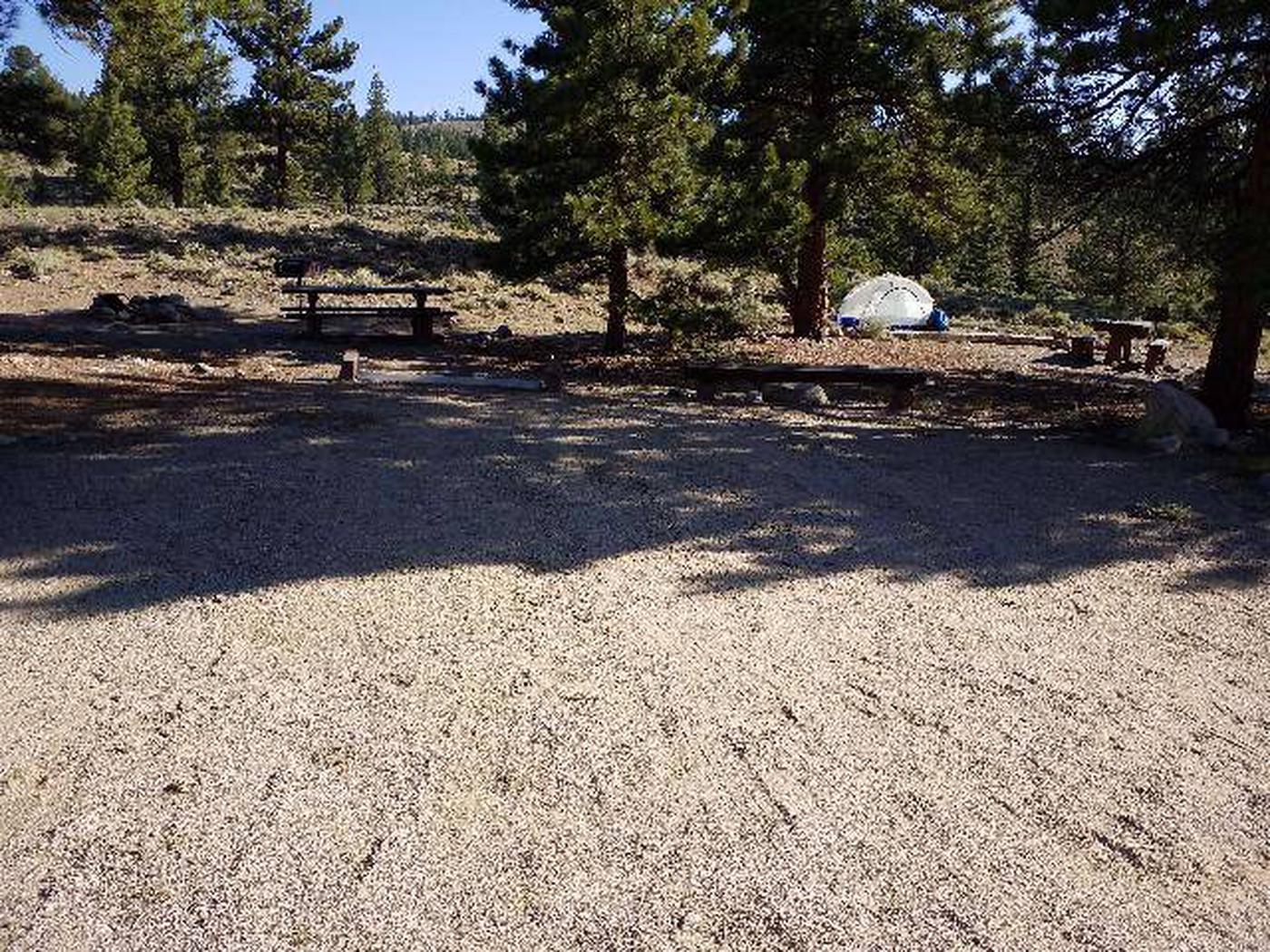 White Star Campground, site 49 parking