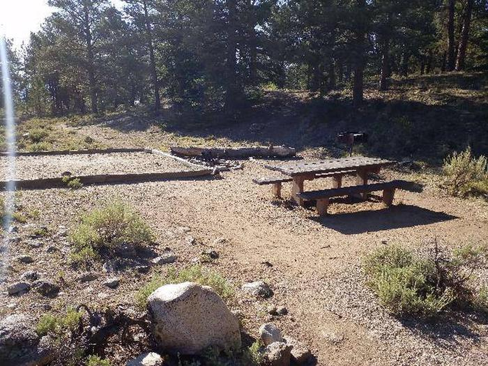 White Star Campground, site 53