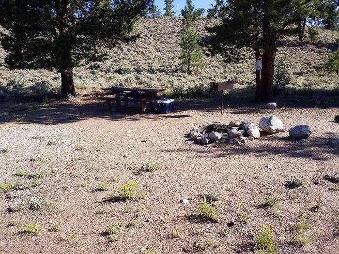White Star Campground, site 54