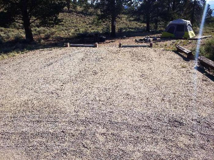 White Star Campground, site 54 parking