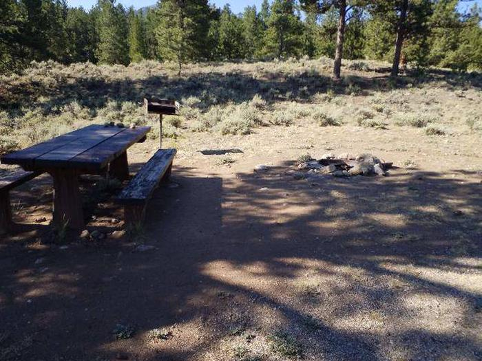 White Star Campground, site 57