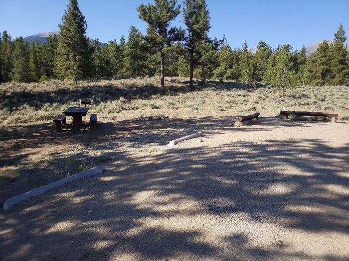 White Star Campground, site 57 parking
