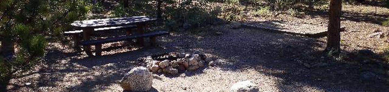 White Star Campground, site 62