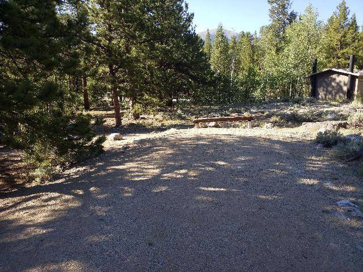 White Star Campground, site 62 parking