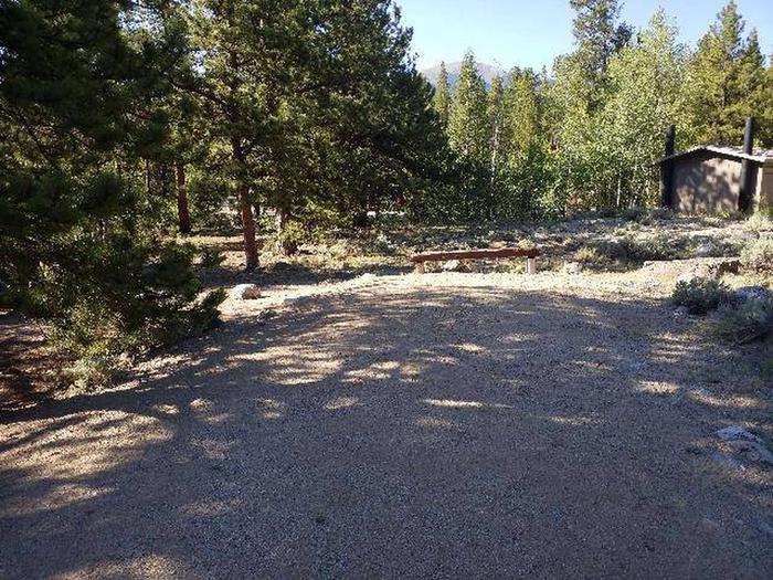 White Star Campground, site 62 parking