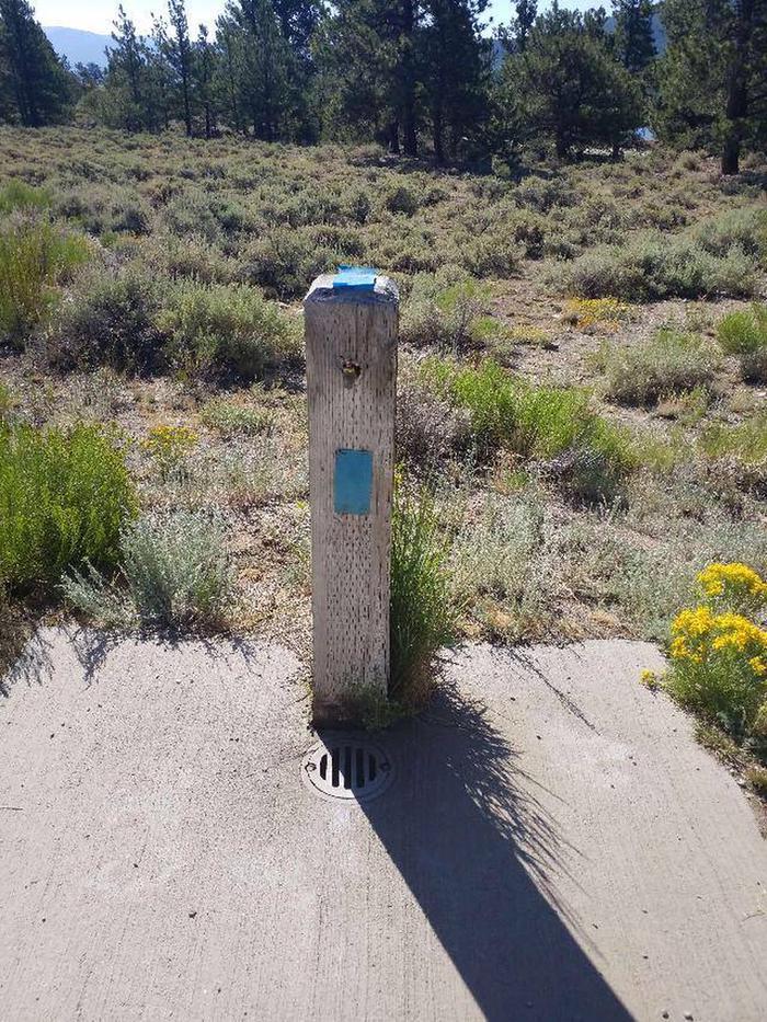 White Star Campground water spigot 2