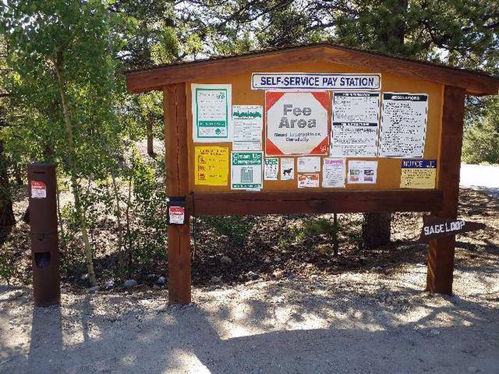 White Star Campground Information Kiosk