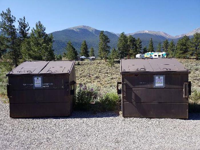 White Star Campground Dumpster