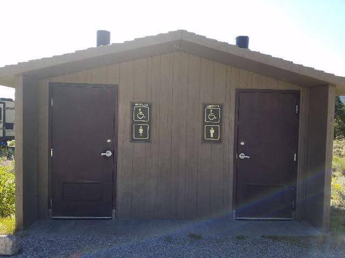 White Star Campground Vault Toilet