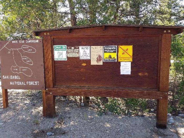 White Star Campground Information Kiosk 2