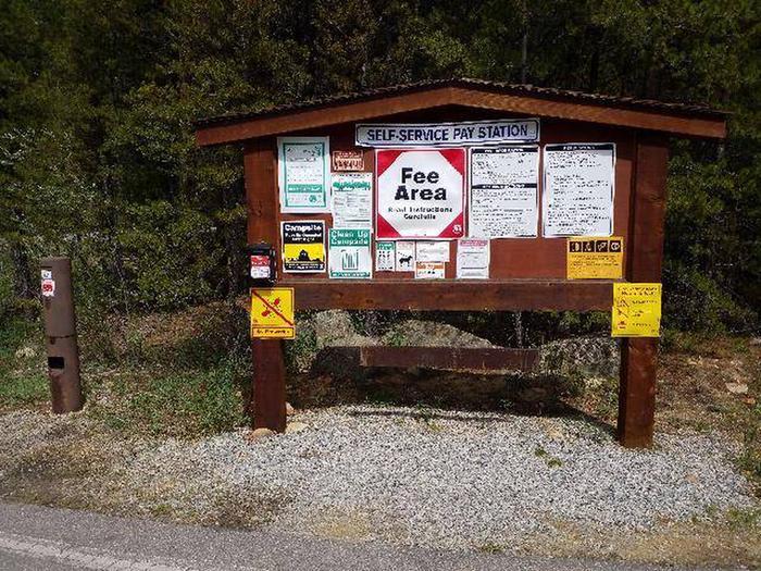 Silver Dollar Campground Information Kiosk