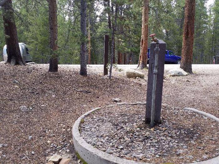 Silver Dollar Campground Water Spigot