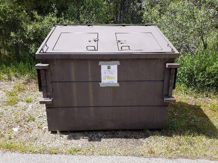 Silver Dollar Campground Dumpster