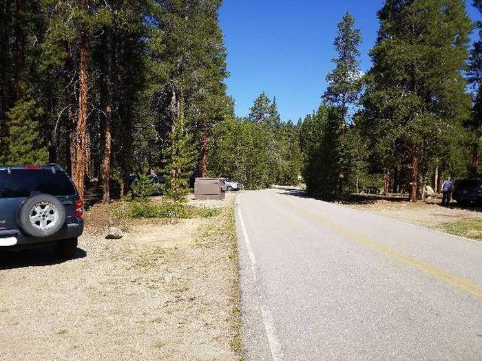Father Dyer Campground, site 5 parking