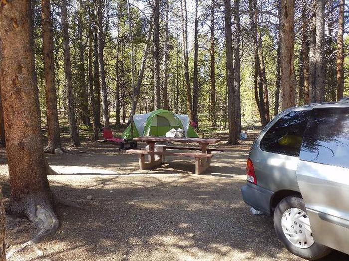 Father Dyer Campground, site 7 picnic table