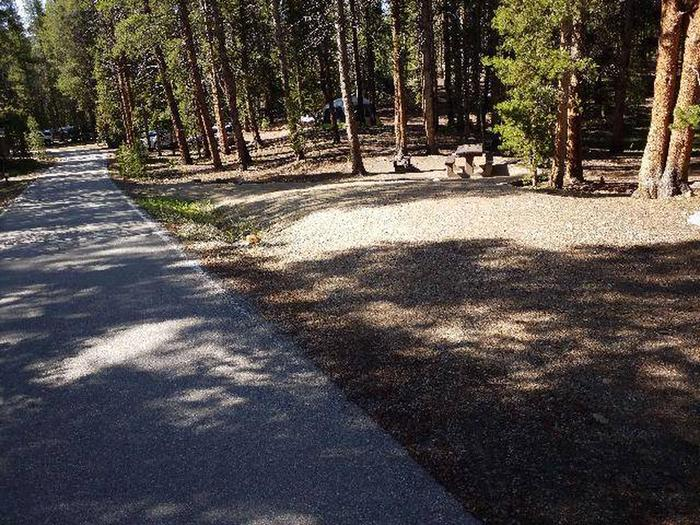 Father Dyer Campground, site 19 parking
