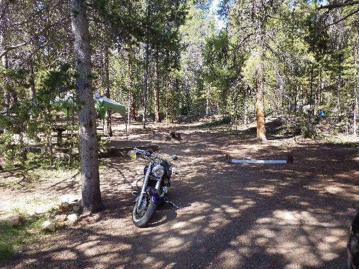 Father Dyer Campground, site 25 parking