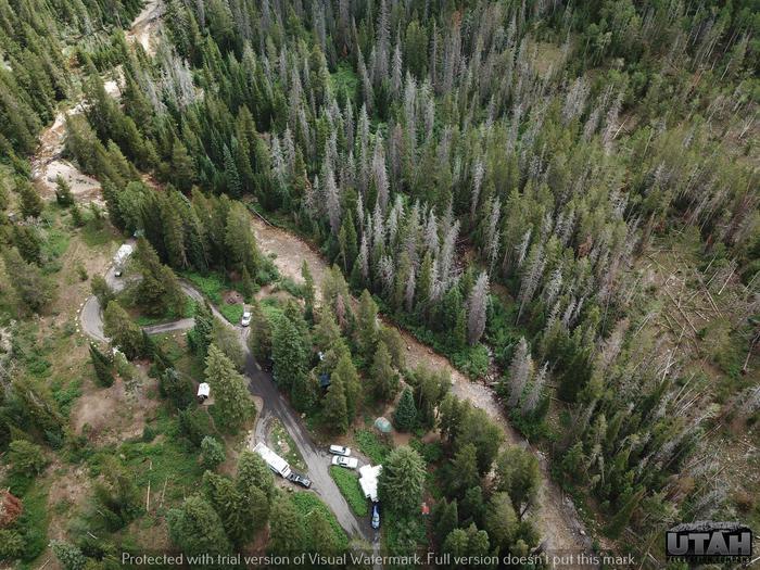 Cobblerest Campground - aerialCobblerest Campground