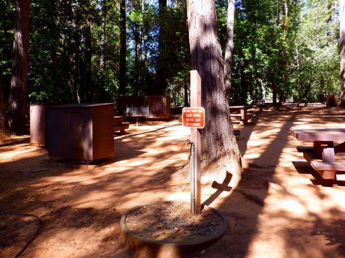 Campsite Water Spigot