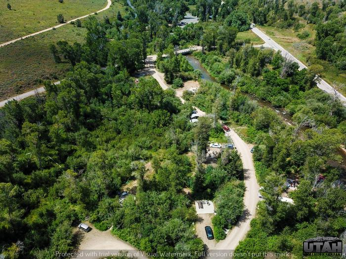 Upper Meadows Campground - aerialUpper Meadows Campground