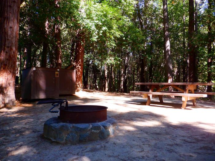 Bear Boxes and Picnic Tables
