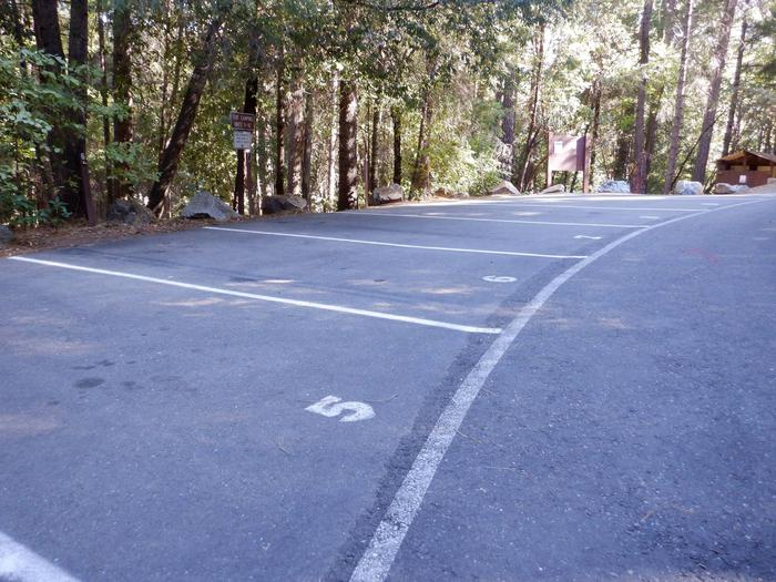 Parking for Campsite 5-10