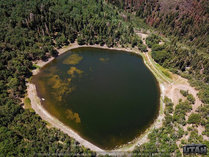 Maple Lake Campground aerialMaple Lake Campground
