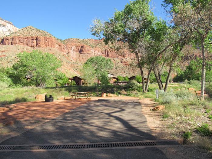 Campsite areaSite A14