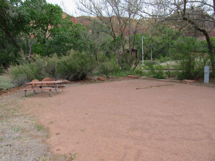 Campsite area 2B2