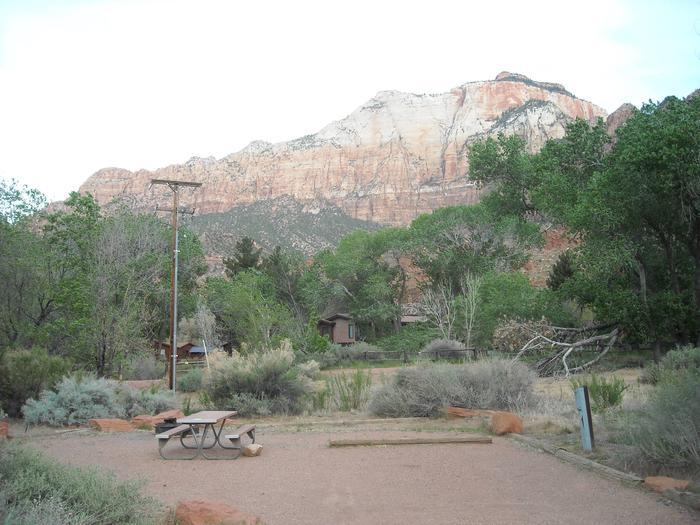 Campsite area 3B4