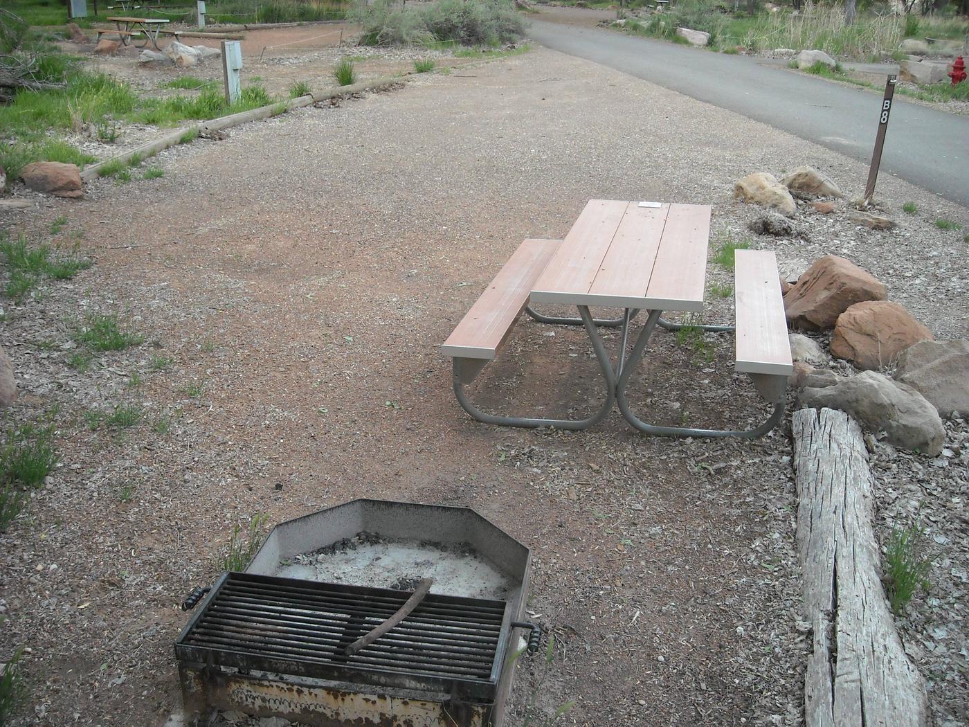Campsite area 3B8