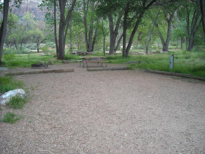 Campsite area 2B12