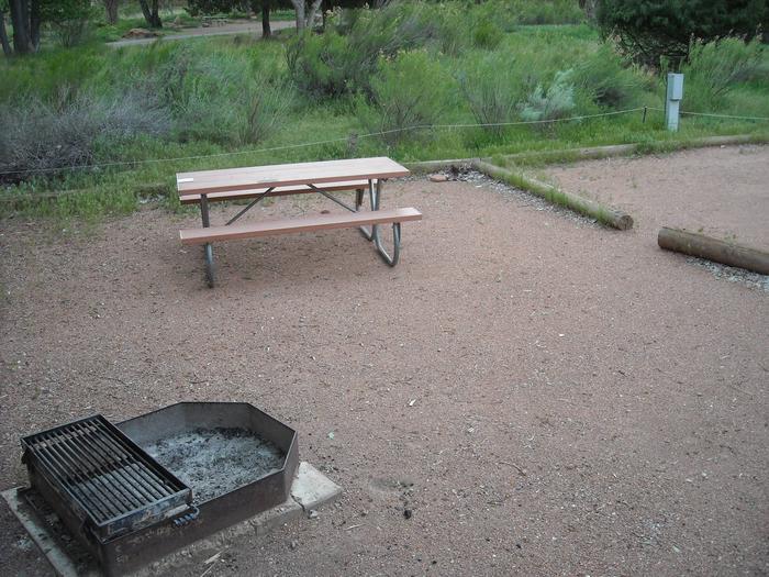 Campsite area 2B13