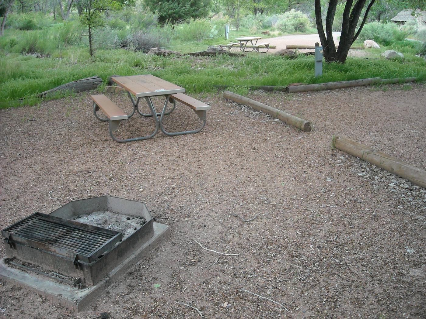 Campsite area 3B12