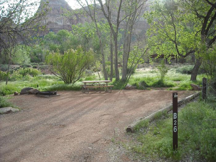 Campsite area 3B26