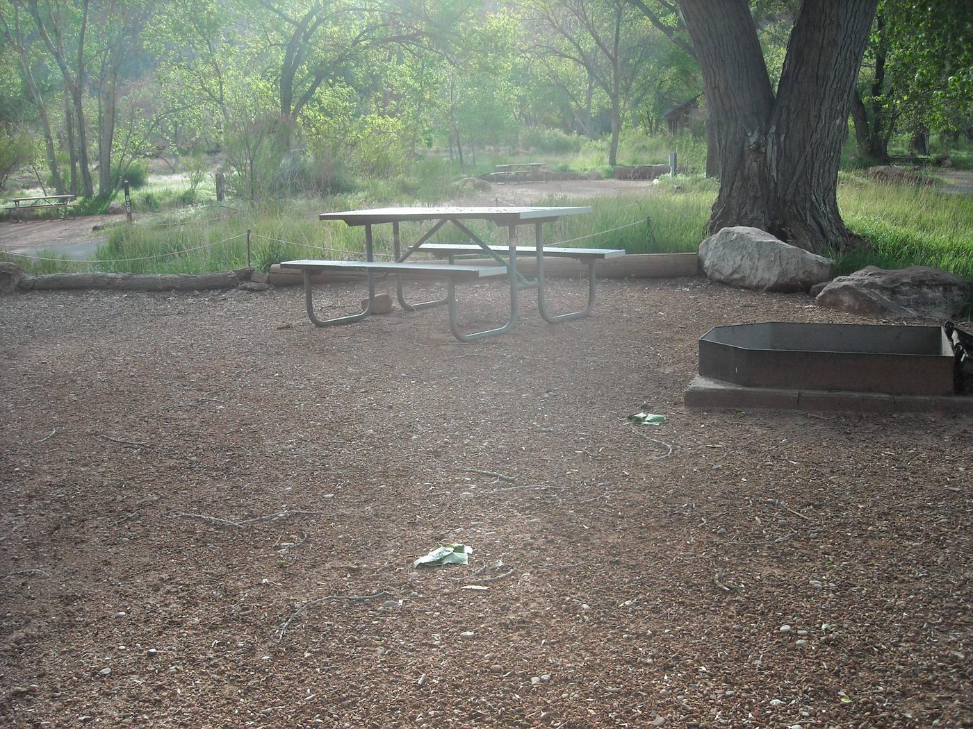 Campsite area 3B25