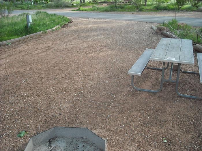 Campsite area 2B25
