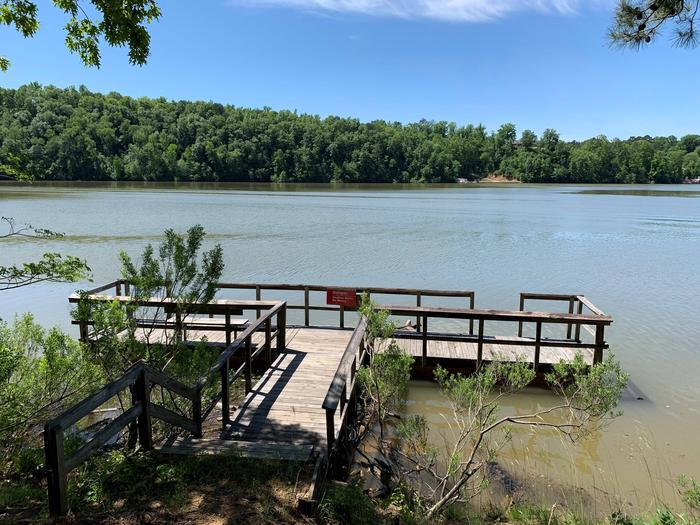 Deerlick Creek Campground Fishing Pier