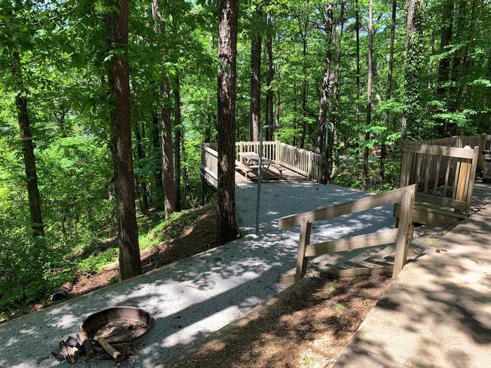 Deerlick Creek Campsite 37 Picnic Area