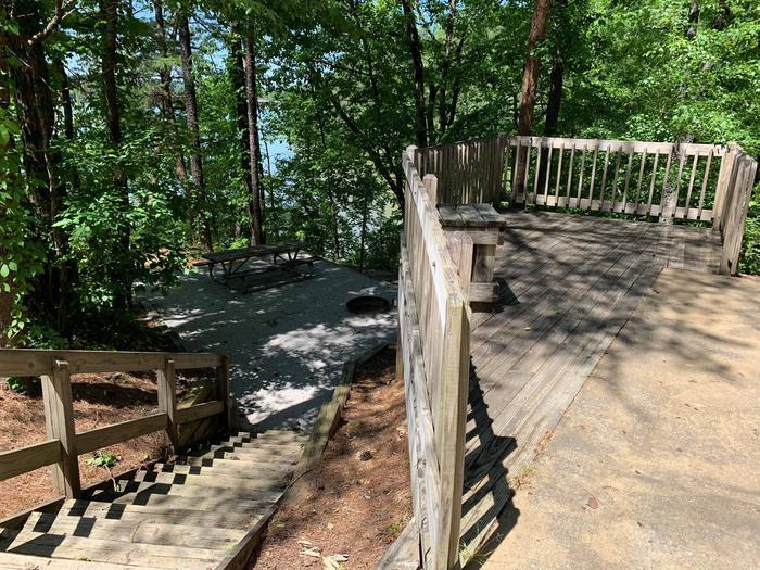 Deerlick Creek Campsite 34 Picnic Area 2Deerlick Creek Campsite 34 Picnic Area