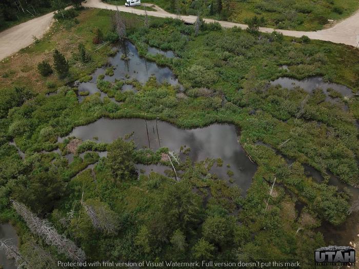 Shingle Creek Atv Campground aerialShingle Creek Atv Campground