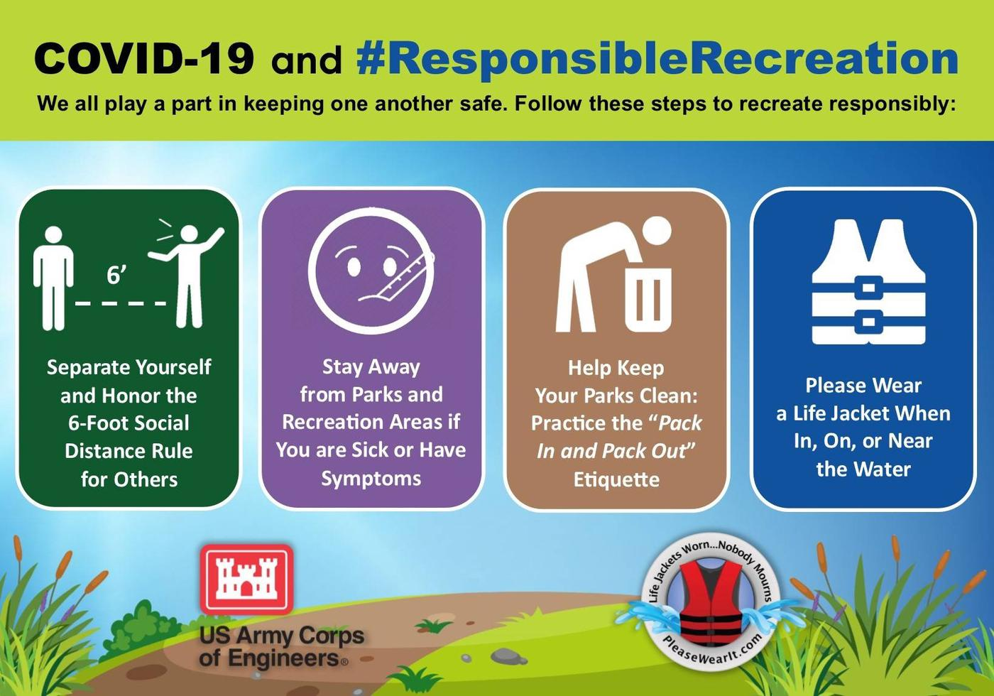 COVID-19 #RESPONSIBLE RECREATION