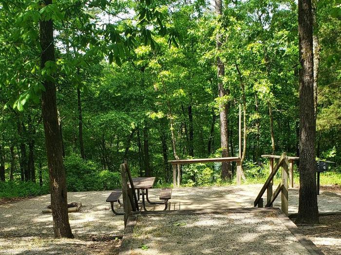 Jefferson Ridge Site 84Campsite 84